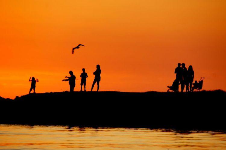 Chorwacja Croatia Summer Lato Wakacje Holiday Sunset Ludzie Zachód Słońca