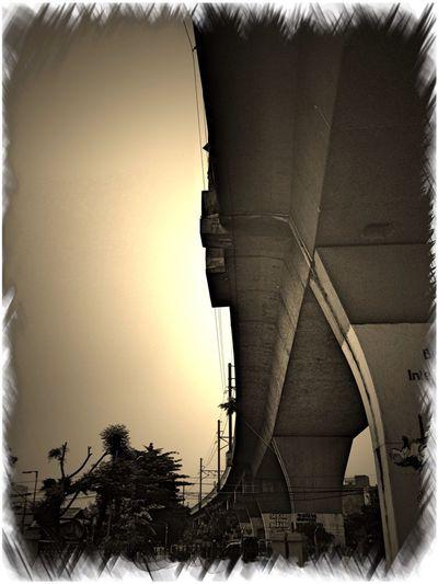 Under The Bridge Structures Sepia Tone Loving Indonesia_allshots