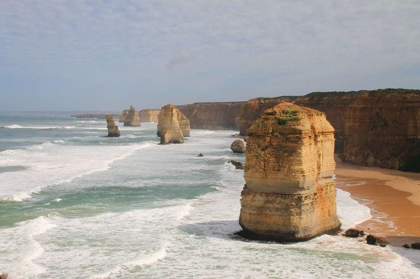 Beach Day Great Ocean Road Human Eye Landscape Large Nature Outdoors Sea Travel Destinations Twelve Apostles