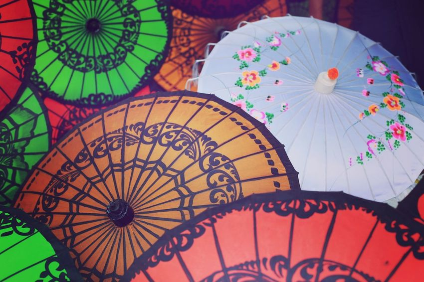 Umbrella From Bagan City In Myanmar First Eyeem Photo
