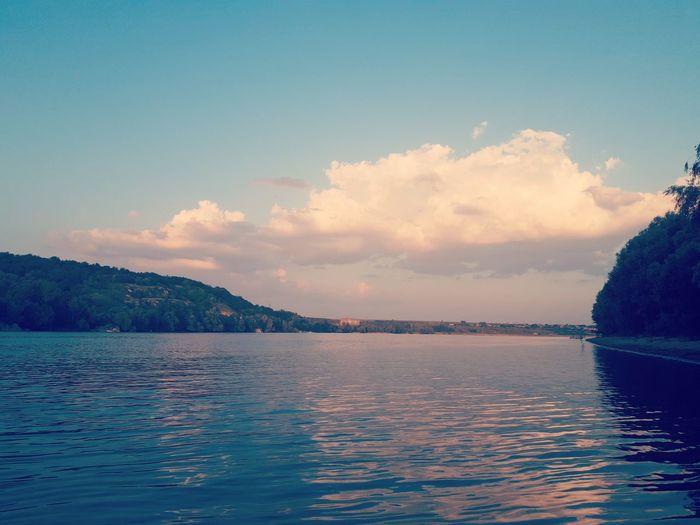Wanderlust Water Sunset Blue Mountain Tree Swimming Sky Landscape