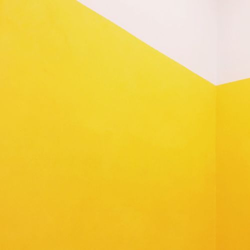 Color Colours Colorblocking Colorblock Wall Walls Wallart Minimalism Minimalist Minimal Yellow Yellow Color IPhoneography Iphoneonly Pattern