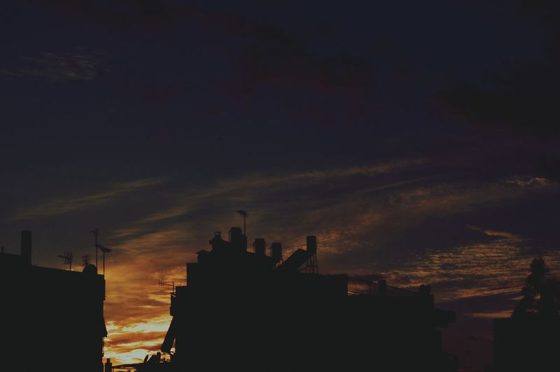 /sunset / MyPhotography Sky Sunset Architecture Cloud - Sky Urban Skyline City Beauty In Nature Outdoors Vintage Lifo