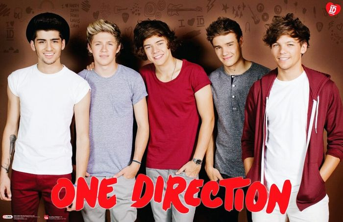 Harry Styles Niall Horan Zayn Malik Liam Payne Louis Tomlinson