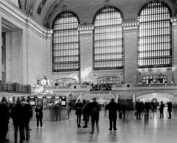 Grand Central Station Grand Central Station Architecture Built Structure City Crowd Indoors  Large Format Large Group Of People People Tourism Transportation Building - Type Of Building Travel Travel Destinations