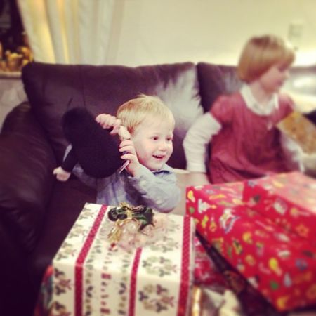 Happiest Boy in the World #maulwurf #xmas Xmas Maulwurf