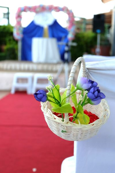 At tge wedding. Check This Out Taking Photos Enjoying Life Wedding Photography Weddings Around The World Wedding Day Ceremony Happy Day Empty Places Focus On Foreground Flowers No People Outdoors Close-up Selective Focus
