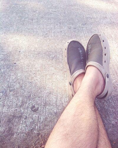 My Running Sandals.. lol :) Relaxing Ikempotxkie_pics Saturdaymorning Jogging Time