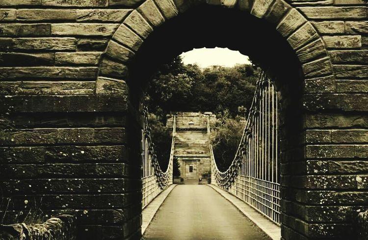 Chainbridge Borders Berwickupontweed Berwick Bridge Bridgeporn