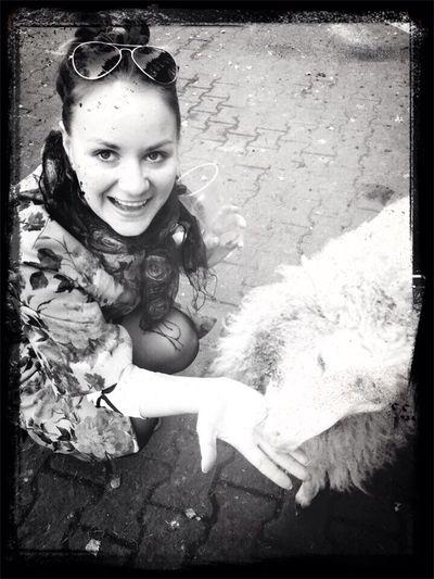 Черно-белое счастье!