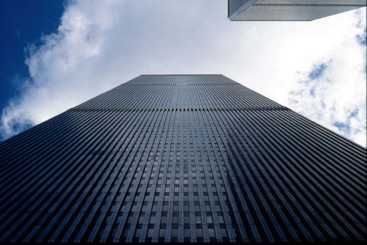Architecture Building Exterior Cloud - Sky Directly Below Low Angle View No People Skyscraper Tall - High World Trade Center The Architect - 2016 EyeEm Awards