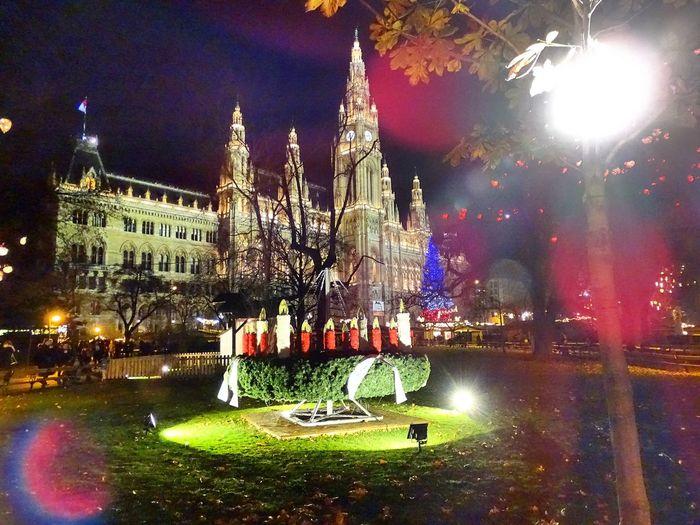Rathaus Wiener Rathaus Christkindlmarkt Vienna Ring Weihnachtsmarkt