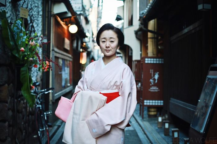 My Best Photo 2015 I consider this my personal best of 2015 - it represents my decision to stop worrying about whether or not people will think my work is 'good enough' and to drop my fear of asking strangers for portraits - in any language. Off Duty Geiko, Pontocho, Kyoto. Dec 2015. Kyoto Japan Geisha Geiko 50mm Travel Portrait