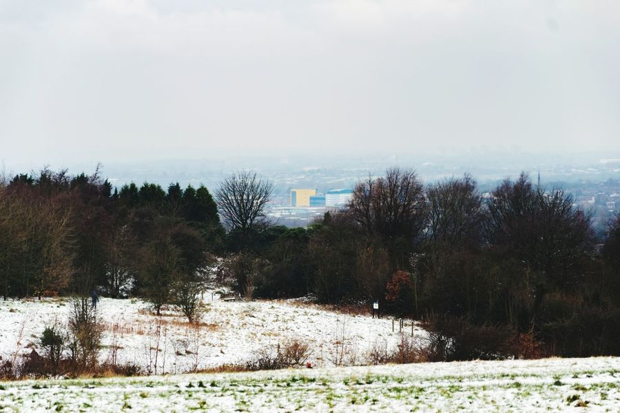 I can see IKEA from here! Stalybridge Gorse Hall IKEA View No People Winter Snow Day Outdoors Tranquility Cold Temperature