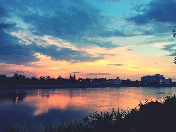 Sunset Mostbeautiful Reflection