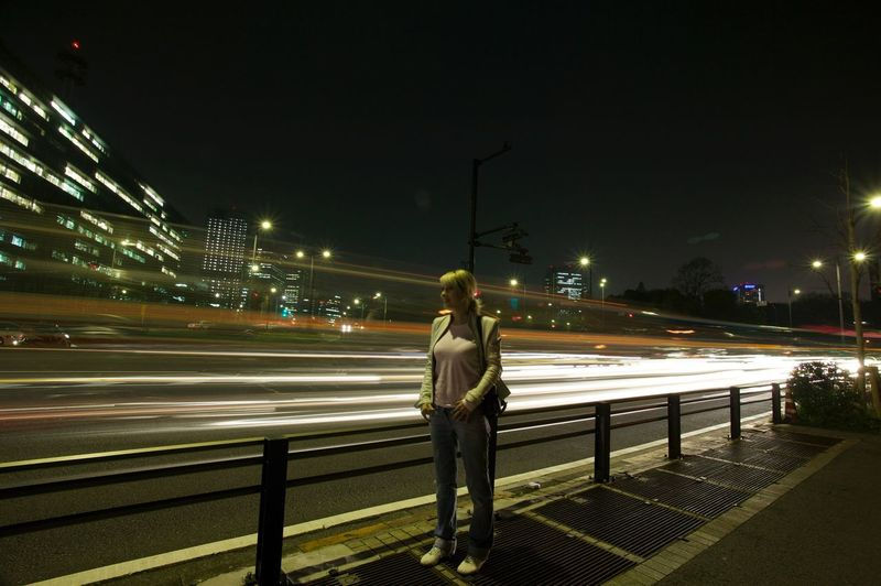 Time lapse highway Tokyo Battle Of The Cities