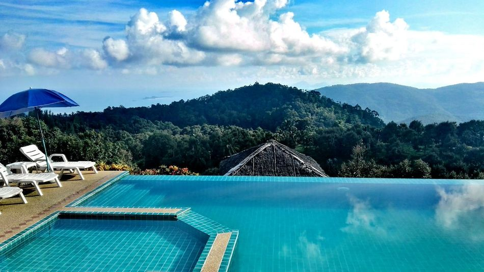 Gasoline Infinity Pool Koh Samui,Thailand MuayThai Sky And Clouds Animals Beauty Big Buddha Temple Cat Dog Dog Lifestyle Fireshow Friends ❤ Gasoline Bottle Island Isle Look Back At'em People Pool Sunset Waterfalls