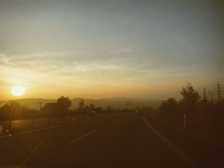 North czech sunset Teplice Ceskarepublika Projizdka Zapadslunce First Eyeem Photo