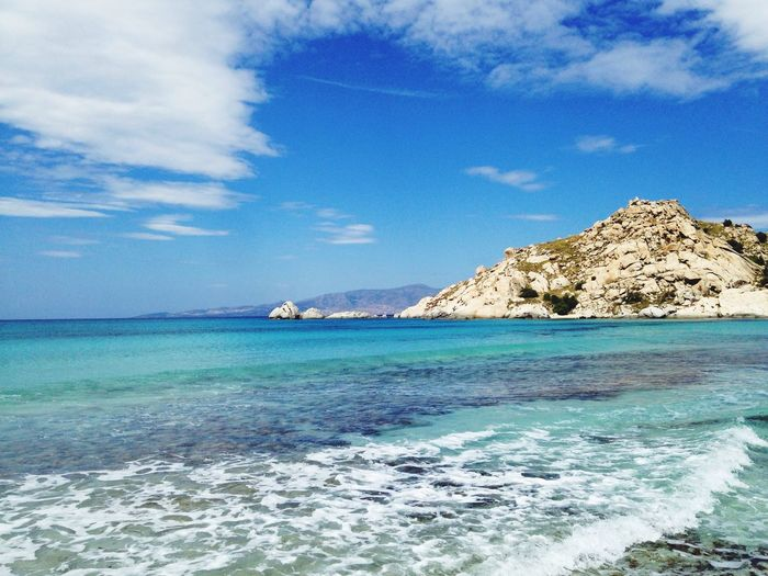 Beach Ocean Greece