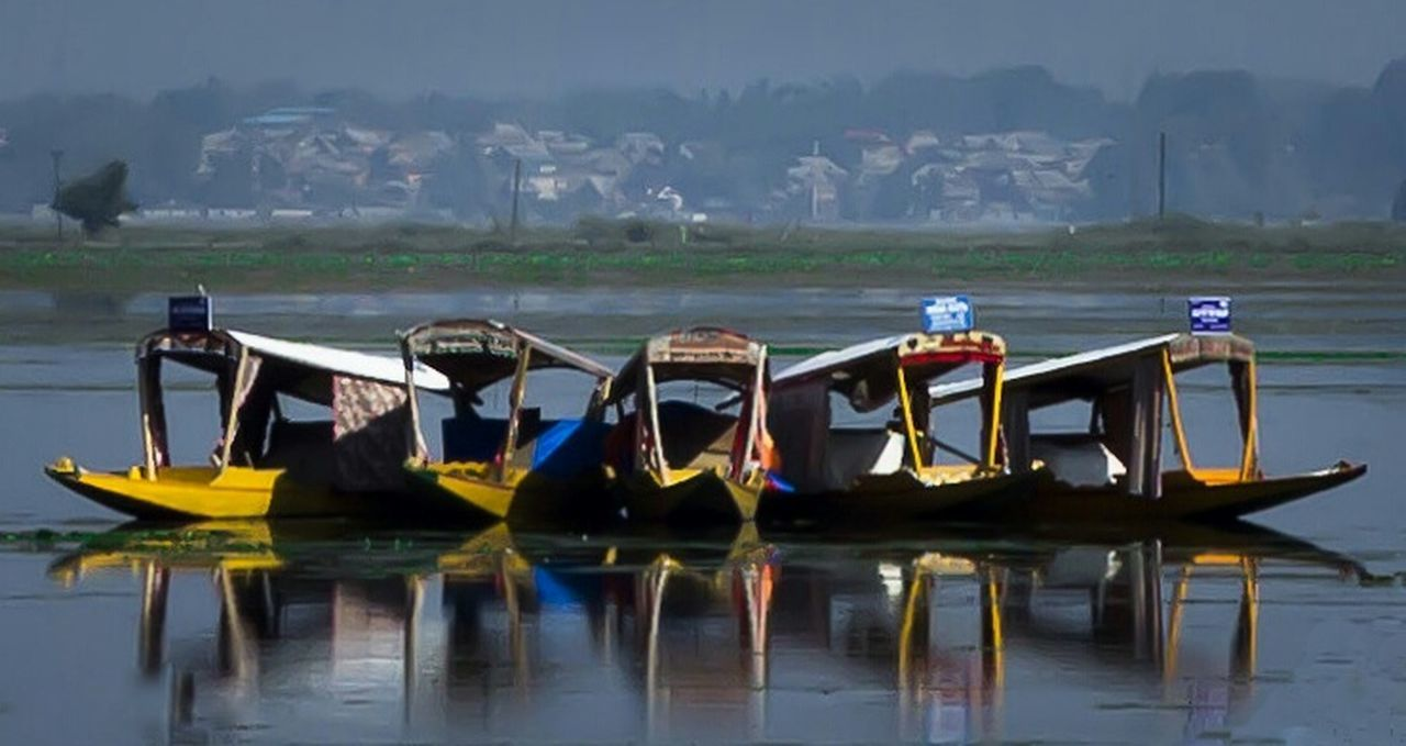 BOATS IN WATER