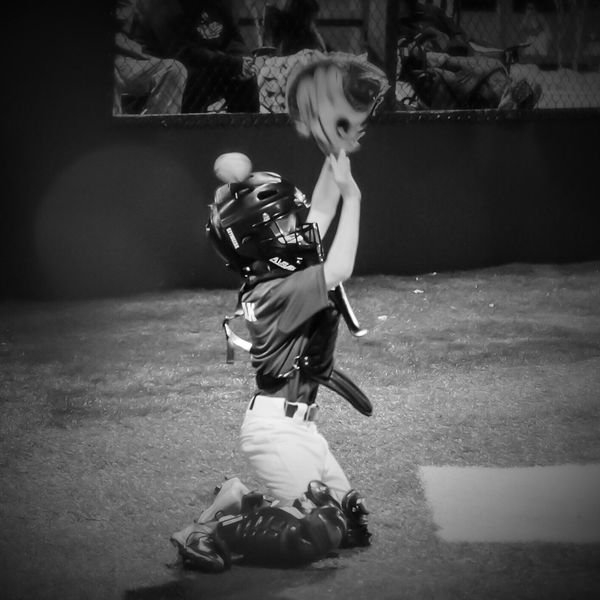Balance Baseball Blurred Motion Boys Casual Clothing Childhood Day Depth Of Field EyeEm Best Shots - Black + White Fashion Focus On Foreground Full Length Fun Leisure Activity Lifestyles Men Music Occupation Playing Real People Selective Focus Side View Sitting Sport Sport In The City