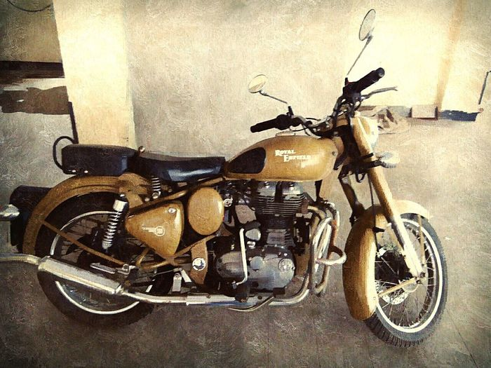 Royal enfield love the bike old bike