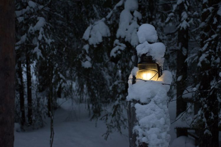 And I will leave the light on Nikon D5500 Lapland, Finland Lapland White White Background darkness and light Dark Snow Light Lamps Lamp