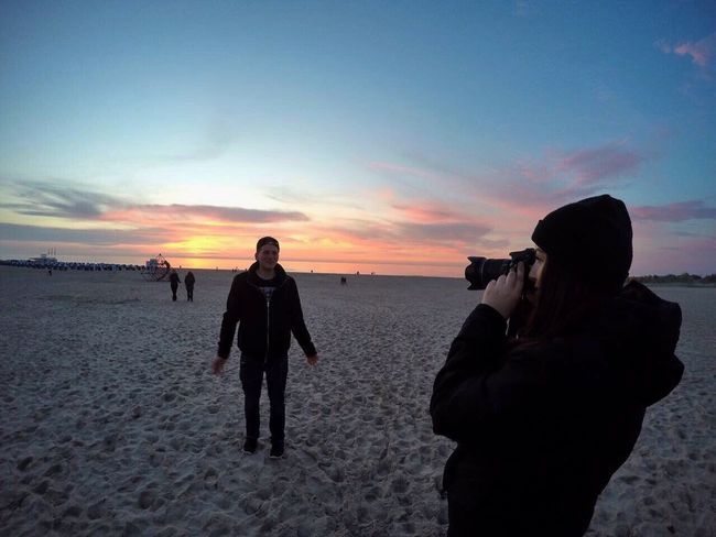 Beach Sunset Sea Sand Sky Nature Beauty In Nature Baltic Sea Photgraphy