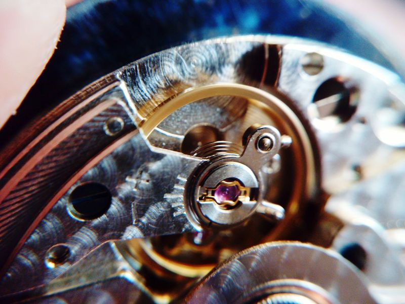 Inside my watch Watchmaker Tick Tock Tick... Tock Watchmovment