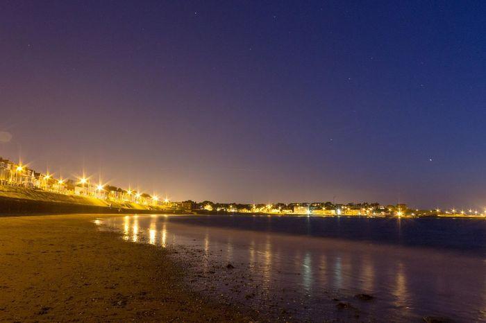 Night Sea Canon Taking Photos Check This Out Ireland Northern Ireland Beach Bangor Co Down