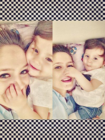 Aşk♥ Kızım Ve Ben❤ Caniçimmm 💞💟👼🏼💋 First Eyeem Photo