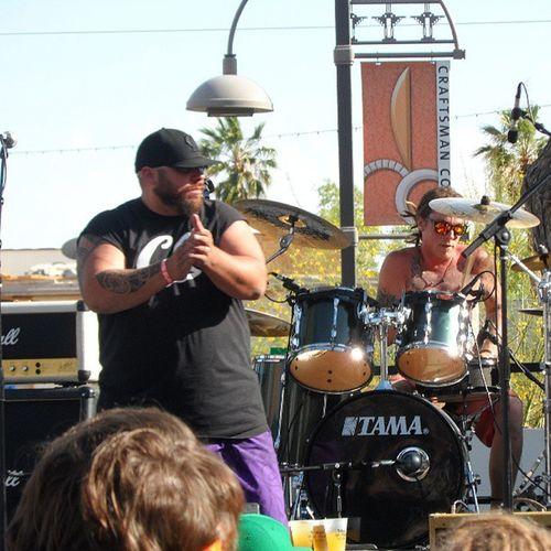 Seedless playing at cinco de mayo party in Scottsdale, AZSeedLess Reggae Arizona Party cincodemayomusic