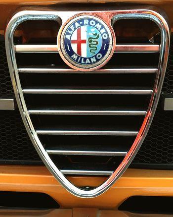 Quadrifoglio Alfaromeo Car Milano Italy Oldtimer Classic Car Belgium Yellow