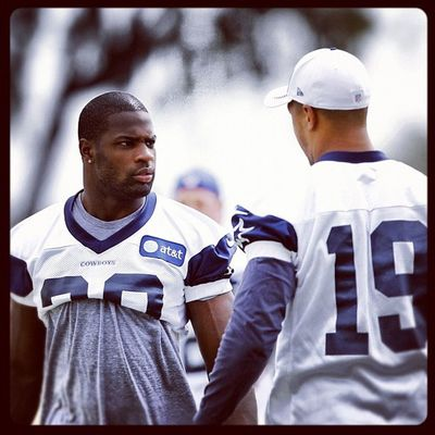 "Dynamic Duo -"" DeMarco Murray and Miles Austin"" GoDallas HowBoutThemCowboys !!!"