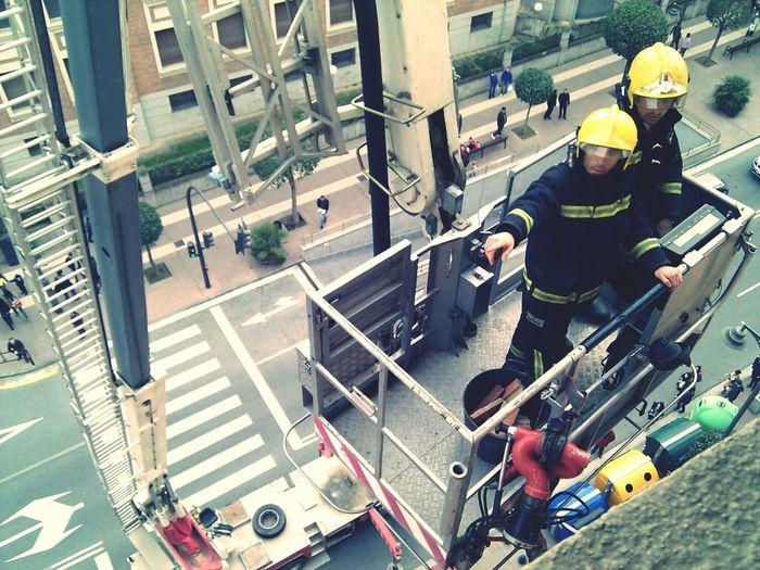 Séptimo piso. Firemen Bomberos