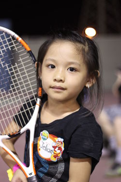 Astronomy Child Childhood Children Only Close-up Cute Game Headshot Indoors  One Girl Only One Person People Portrait Sports Sports Photography Tennis Tennis 🎾