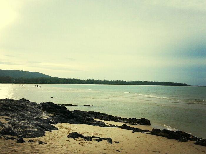 Enjoying The Sun Relaxing Sea Sunshine