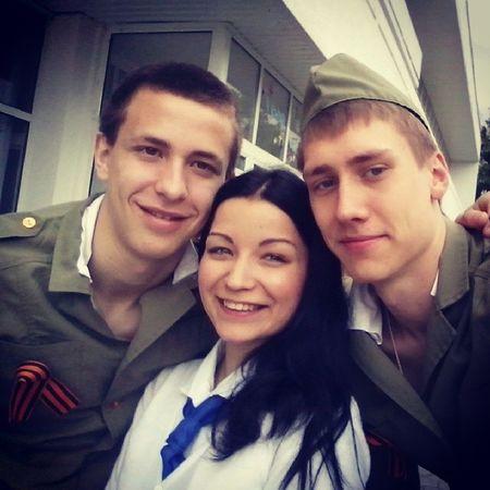 Солдатики мои