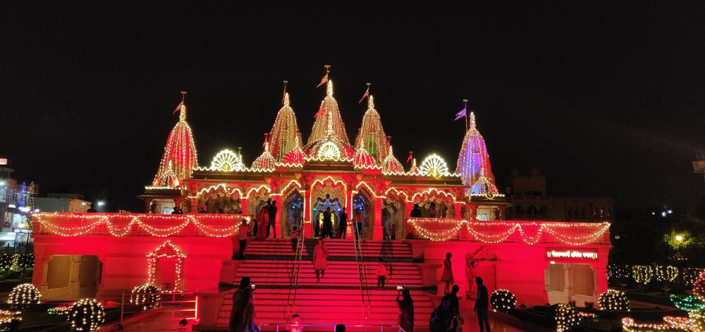 Festival lights India Festival Lights Cityscape City Illuminated Red Multi Colored Celebration Sky Architecture EyeEmNewHere