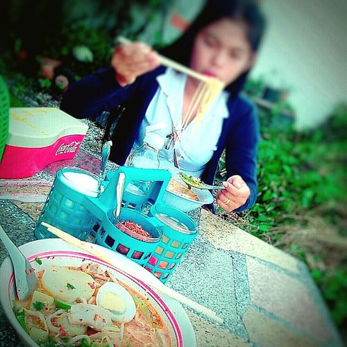 Dinner with myfriends.