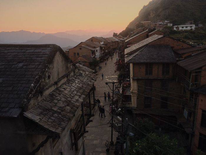 Architecture Building Exterior Sunset Bandipur Nepal ASIA Asian  Asian Culture Old City Old Buildings Old Town Nepalese Nepalese Culture