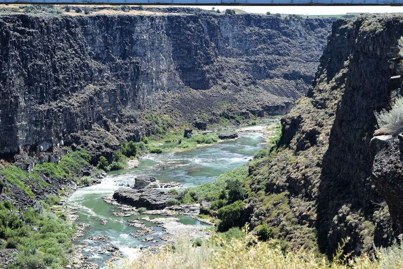 Snake River Day Landscape Nature No People Outdoors River Water Waterfall