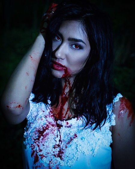 Zombie Darkness Model Germany Forest Makeup Special Effects