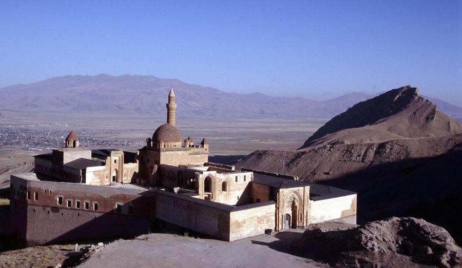 Palace in Eastern Rurkey Ancient Architecture Dogubeyazit Islam Mountain Palace Place Of Worship Religion Travel Turkey