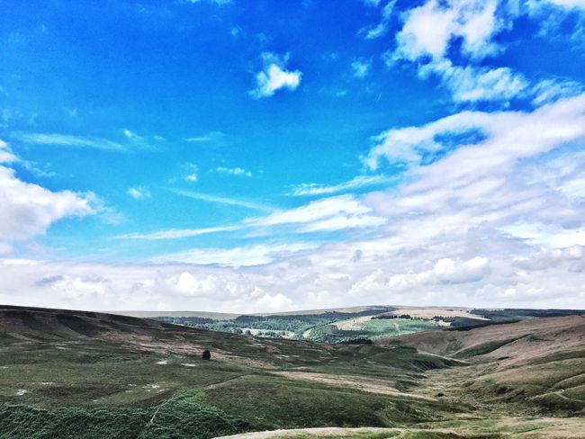 View over the countryside in Buxton, Derbyshire Landscape Nature Outdoors First Eyeem Photo