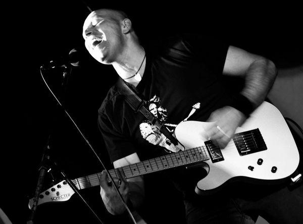 Rock Rock'n'Roll Live Music Concert PlayingGuitar ElectricGuitar Blackandwhite Photography Taking Photos Concert Photography Monochrome Light And Shadow