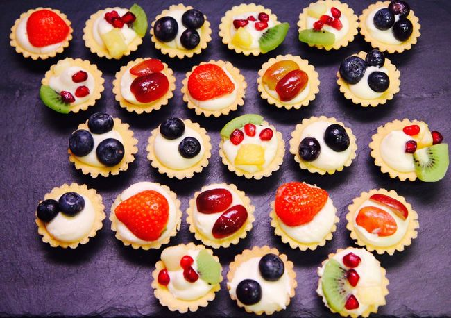 Beautifully Organized Sweet Food Dessert Indulgence Fruit Freshness Food And Drink Ready-to-eat Food Kiwi - Fruit Variation Indoors  No People Close-up Homemade