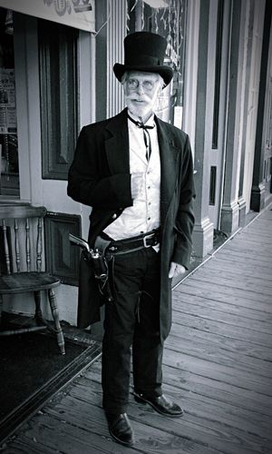Reverend James, Silver Queen Hotel, Virginia City, NV Street Portrait Old Times Taking Photos Blackandwhite Travel Photography Eye4photography  Virginia City