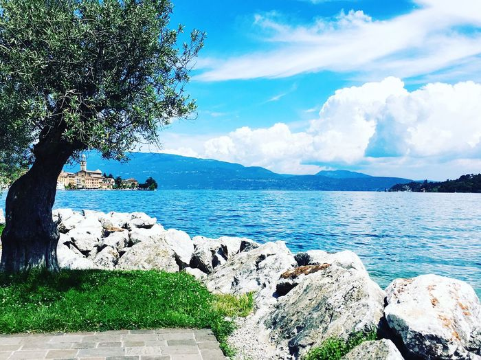 Streetphotography Landscape Italy 2016 Lago Di Garda Relaxing Sunday Sun Nature Lake View Holiday
