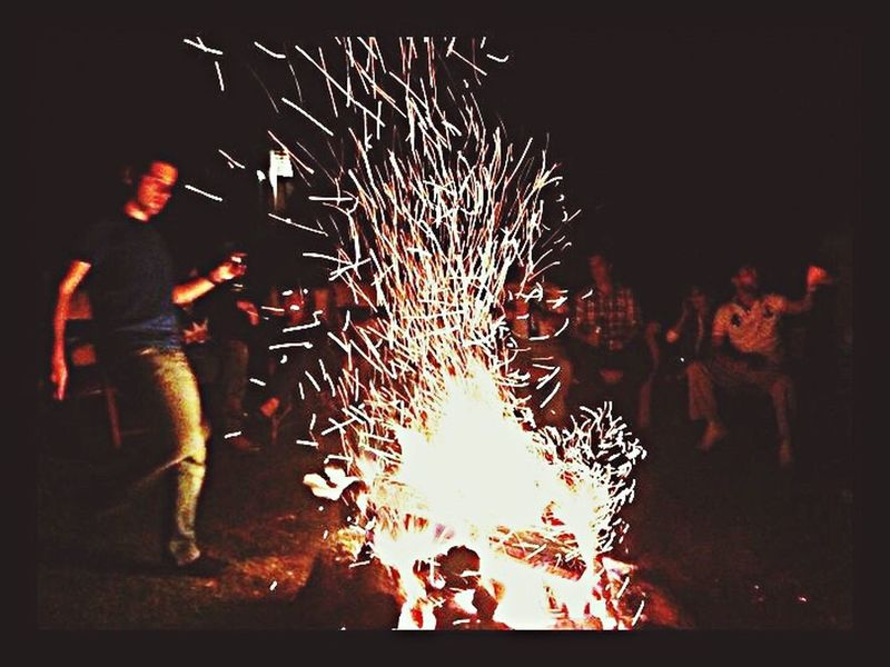 🔥🔥🔥 Night Heat - Temperature One Person Flame Motion Men Long Exposure One Man Only Standing People Adult Occupation Real People Adults Only Outdoors Smoke Only Men Illuminated Hearth Firelight Sparks The Great Outdoors - 2017 EyeEm Awards